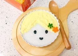 蛋黄泥米粉糊