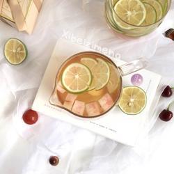 夏天的味道-桃子冰绿茶