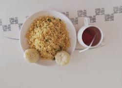 薄荷味玉米蛋炒饭