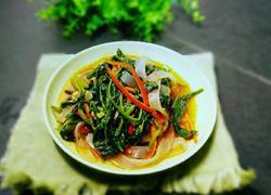 菠菜拌宽粉