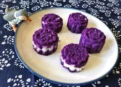 蜂蜜山药紫薯糕