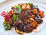 烧汁蘑菇炒牛肉粒的做法[图]
