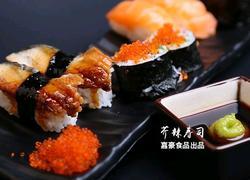 芥辣蘸寿司卷