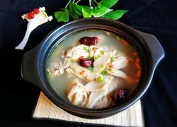 鲜松茸鸡汤