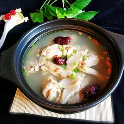 鲜松茸鸡汤的做法[图]