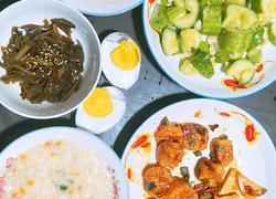 早餐1 蔬菜燕麦小米粥