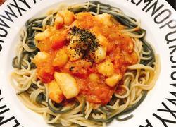 西红柿龙利鱼盖浇面