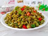 空心菜梗炒泡豇豆的做法[图]