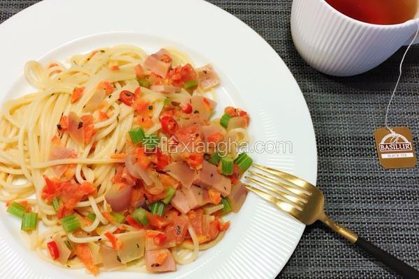 辣味番茄意面