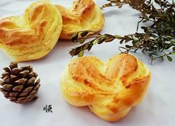 椰蓉心形面包