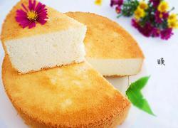 8寸香蕉酸奶戚风蛋糕