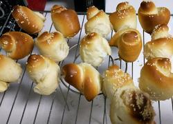 蜂蜜脆底小面包(详细步骤一次成功)
