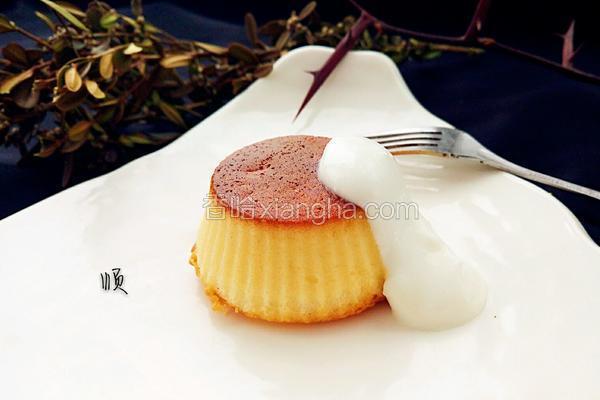 奶香海绵小蛋糕