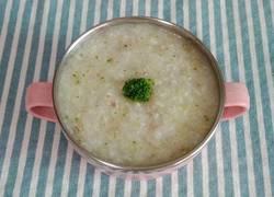 西蓝花鸡肝粥 (宝宝辅食)