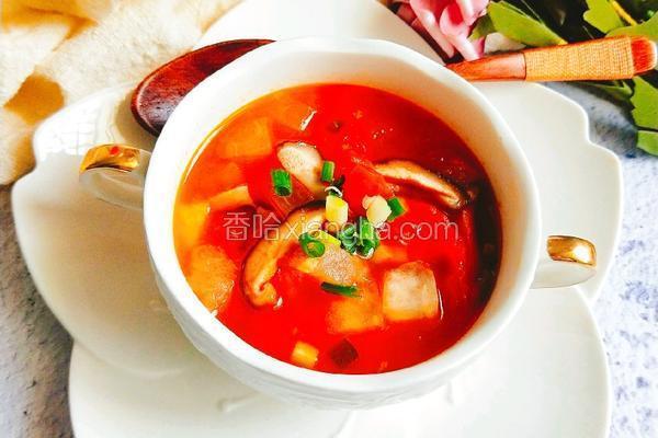 番茄冬瓜开胃汤