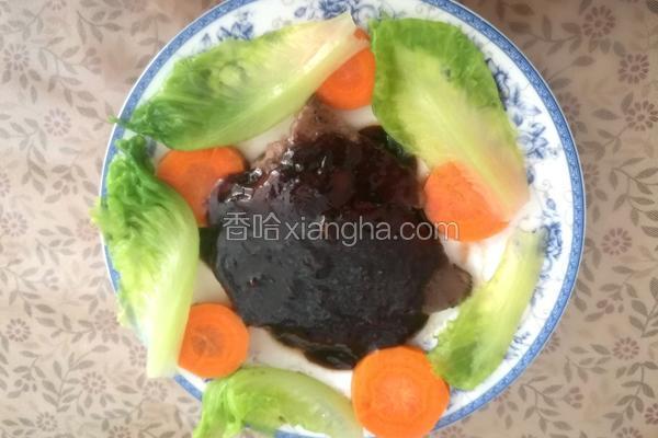 黑胡椒胡萝卜生菜耐嚼牛排