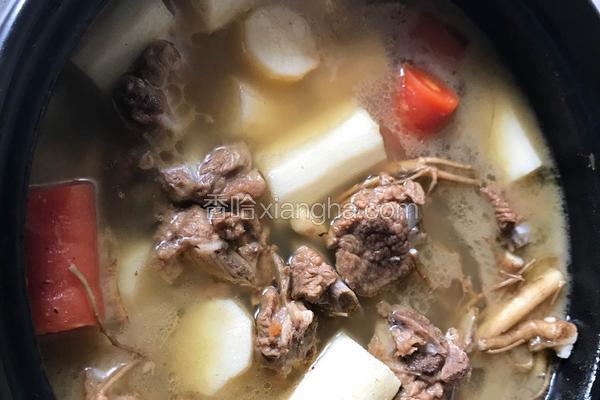 养生排骨汤