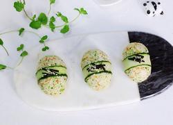 西兰花芝麻饭团