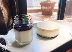 蓝莓芝士蛋糕(免烤)