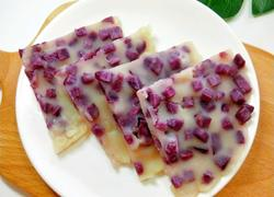 宝宝辅食紫薯软饼