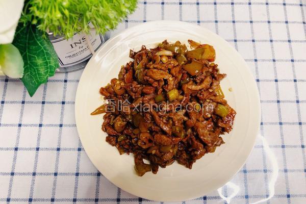 泡椒炒牛肉