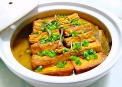 茶树菇烧香煎豆腐