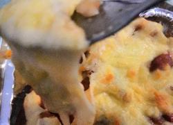 火腿冬瓜芝士焗饭(鲜蔬)