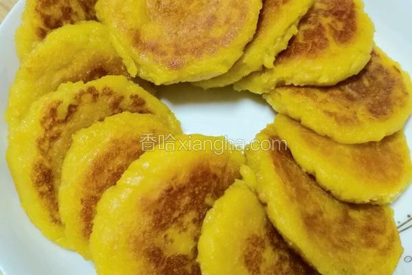 糯米红薯烙饼