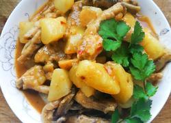 香炖土豆鸡爪