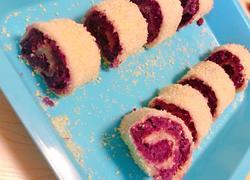 紫薯糯米卷