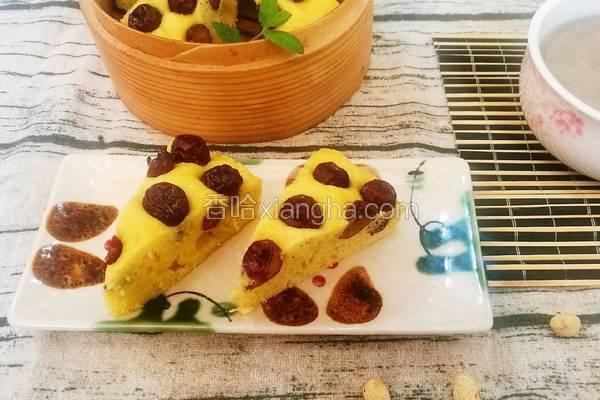 玉米面枣糕