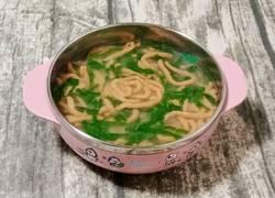 猪肝番茄面线(宝宝辅食)