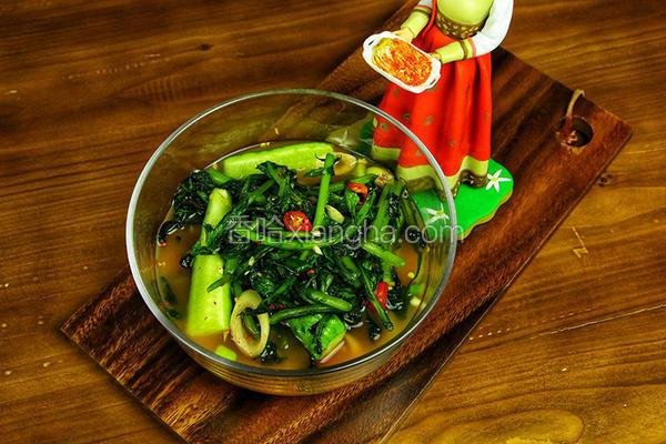 老妈的私房菜——萝卜樱水泡菜