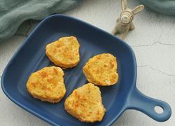 西兰花鲜虾饼
