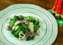 牛肉炒杂菜