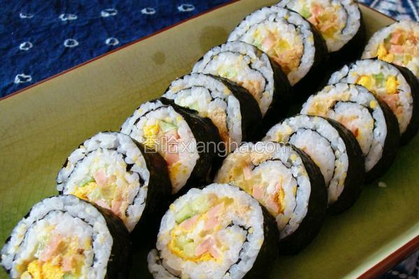 日本寿司(Japanese sushi)