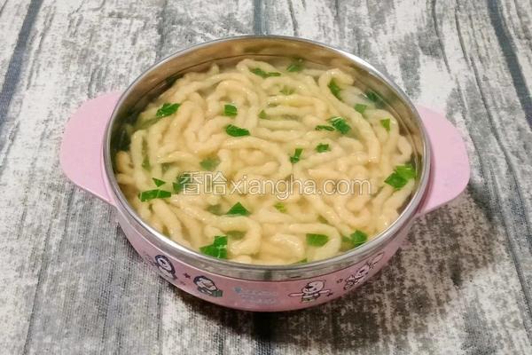 排骨汤面线 (宝宝辅食)