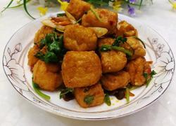 红烧豆腐泡