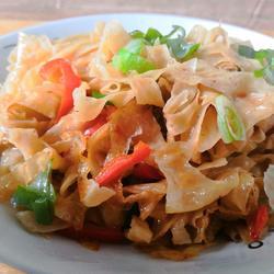 清炒豆腐皮