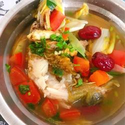 黄骨鱼番茄汤的做法[图]