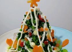 土豆沙拉圣诞树