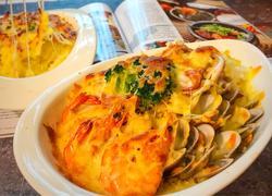 海鲜芝士焗饭