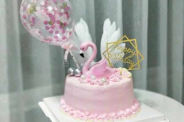 八寸网红生日蛋糕