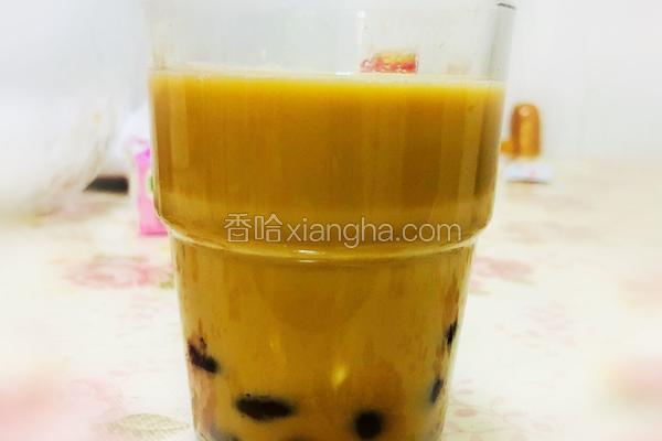 珍珠奶茶(珍珠自制)