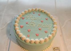 小清新生日蛋糕
