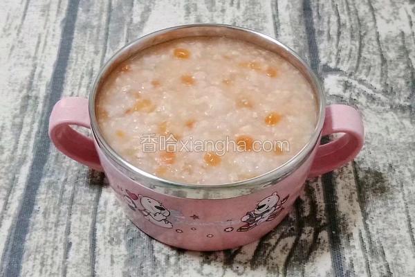 番茄瘦肉粥 (宝宝辅食)
