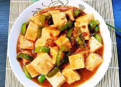 黄豆酱版红烧豆腐