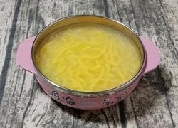 南瓜鸡肉面线 (宝宝辅食)