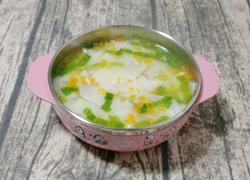 饺子皮面汤 (宝宝辅食)