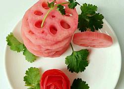 酸甜胭脂莲藕